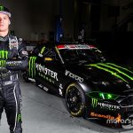 Covers come off Waters' Monster-sponsored Mustang