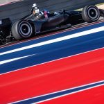 Herta looks and runs best in basic black at INDYCAR Spring Training